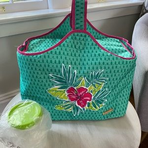 Tupperware Tropical Glamour Picnic Bag Bundle